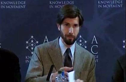 Mr Michelangelo Baracchi Bonvicini, President of Atomium Culture