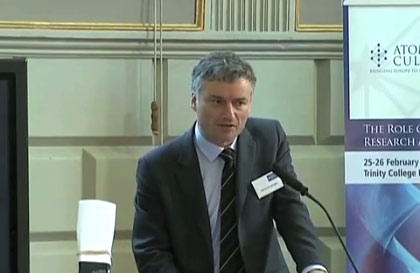 Dr. Patrick Prendergast, Provost of Trinity College Dublin